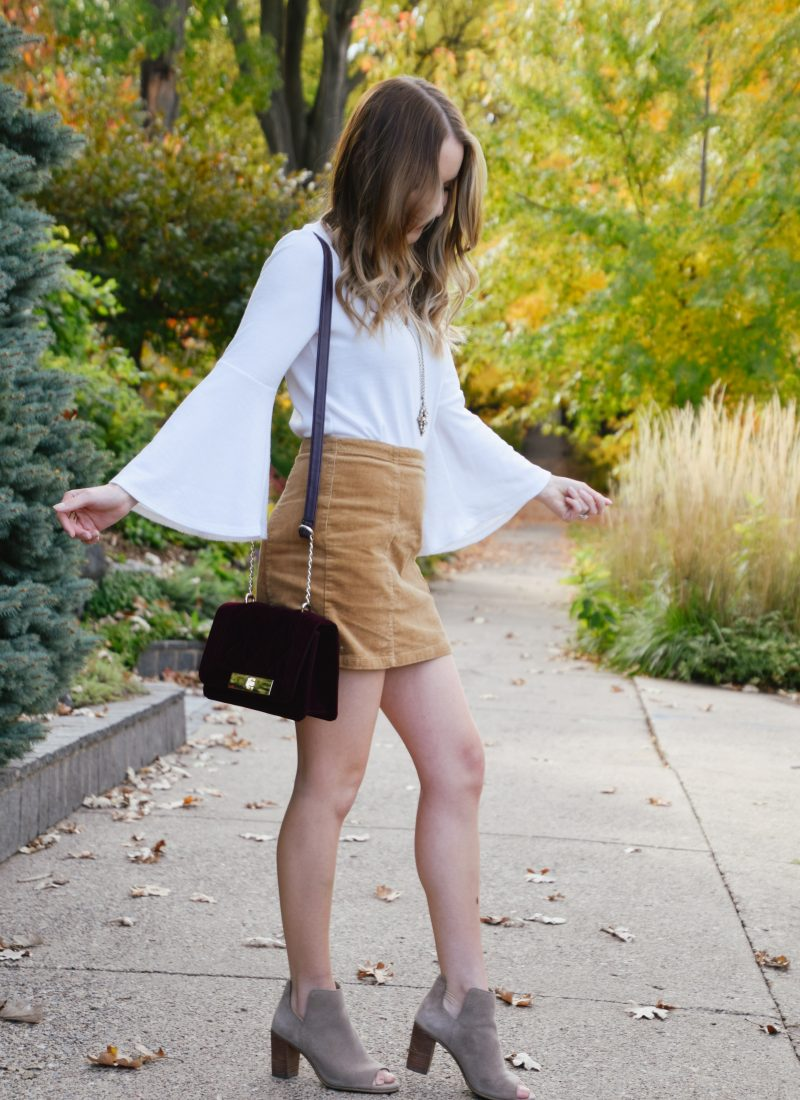 3 Tips to Style a Skirt for Cooler Weather
