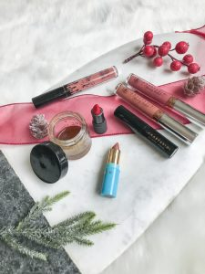 Lipsticks for Holidays, Lipstick for Holidays, DIY Lip Scrub, Anastasia Beverly Hills, Lip Primer, Fall Lip Colors, Tarte Colada, Kylie Cosmetics Candy K, Anastasia Ashton, Anastasia Allison, Bite Beauty Gazpacho