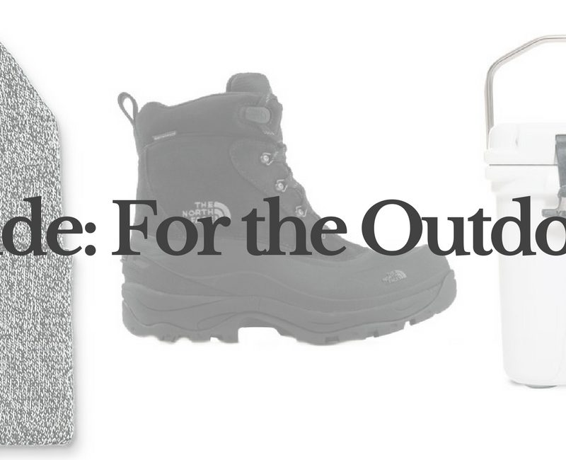 Lifestyle blogger Lauren Meyer of Lo Meyer | Life With Lo Gift Guide for the Outdoorsman