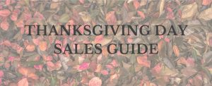 Lauren Meyer of the Lo Meyer Blog | Life with Lo Thanksgiving Day Sales Guide