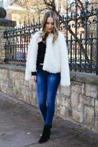 Fashion Blogger Lauren Meyer of the Lo Meyer Blog   Life with Lo discusses 5 Faux Fur Coats Under $50