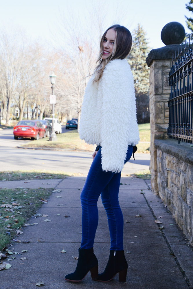 Fashion Blogger Lauren Meyer of the Lo Meyer Blog | Life with Lo discusses 5 Faux Fur Coats Under $50