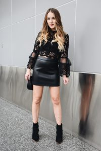 Fashion Blogger Lauren Meyer of the Lo Meyer Blog | Life with Lo discusses Black Lace & Bell Sleeves