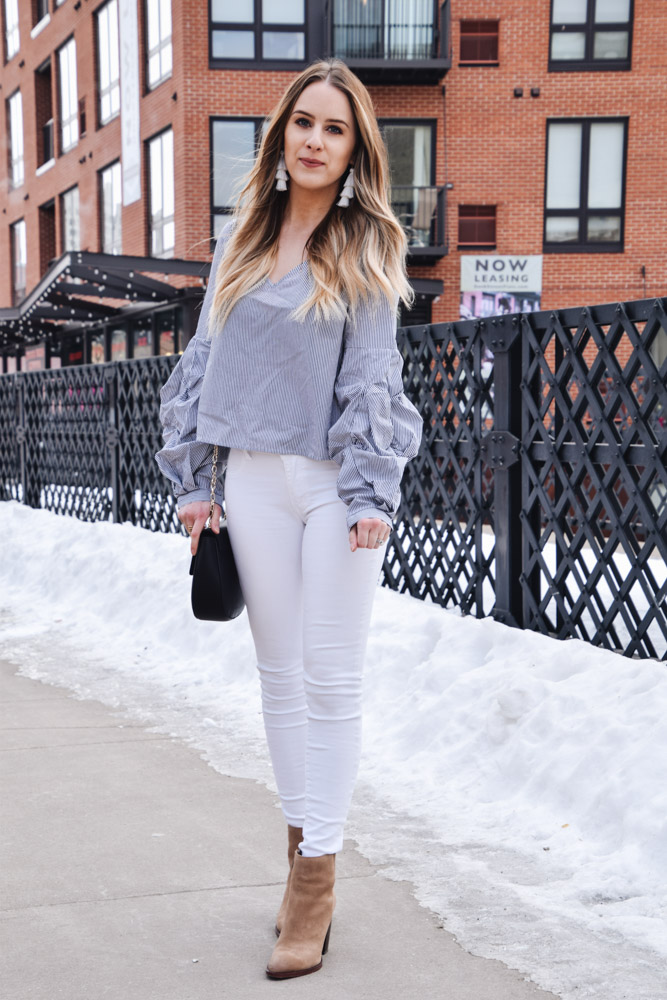 Fashion Blogger Lauren Meyer of The Lo Meyer Blog | Life with Lo discusses a casual Valentine's Look