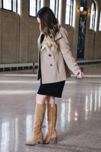 Fashion Blogger Lauren Meyer of the Lo Meyer Blog   Life with Lo reviews the perfect Classic Peacoat Under $50