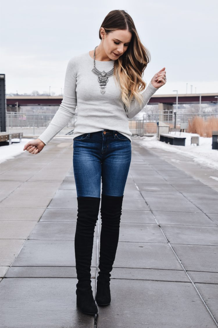 Fashion Blogger Lauren Meyer of the Lo Meyer Blog | Life with Lo discusses the perfect layering sweater