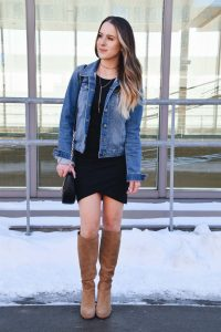 Fashion Blogger Lo Meyer wearing The Most Flattering Dress Styled 4 Ways, Leith Dress, Casual Spring Dress, Casual Outfit, Spring Style