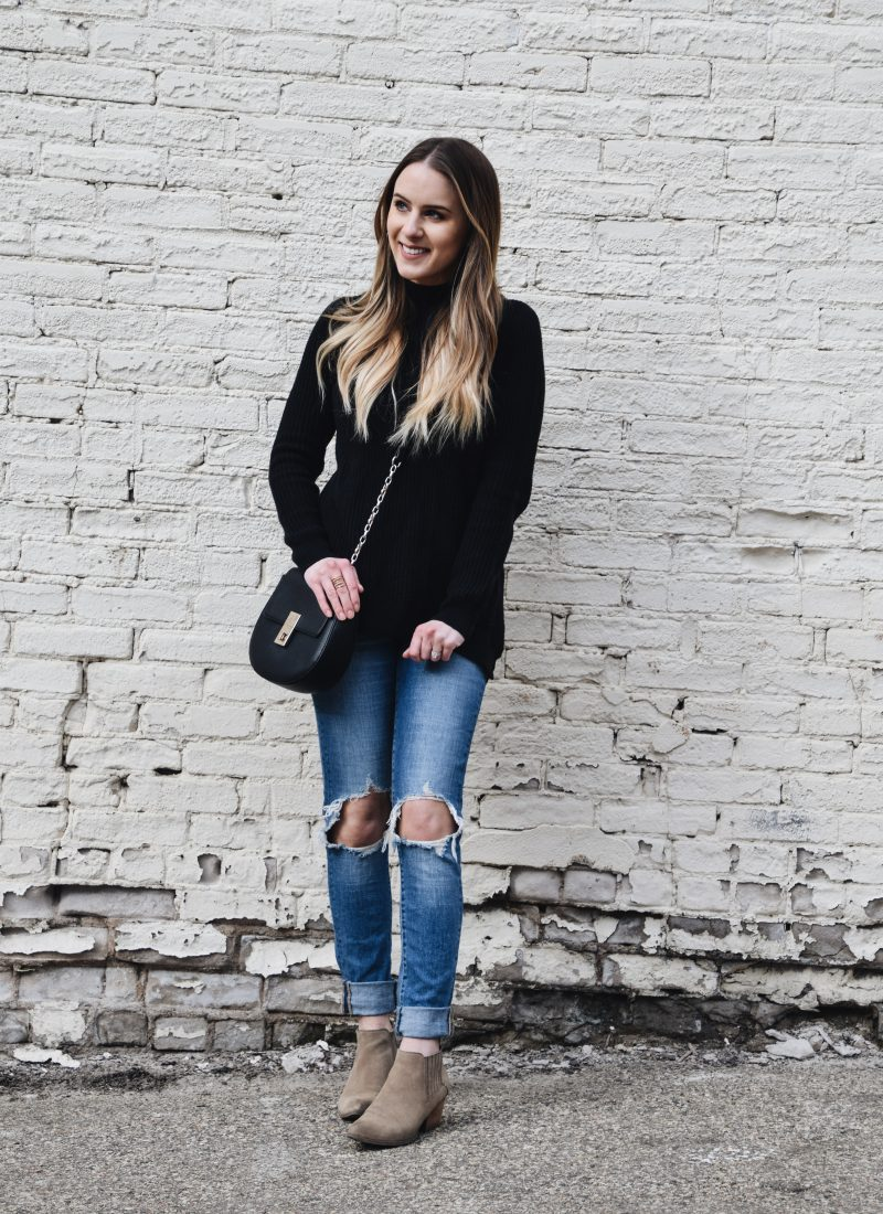 The Tunic Sweater That'll Help You Transition To Spring