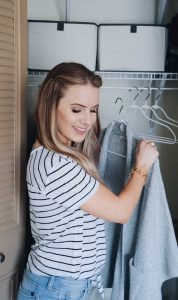 Fashion Blogger Lauren Meyer Shares How to Clean & Organize Your Closet For Spring