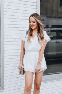 Fashion Blogger Lauren Meyer of The Lo Meyer blog shares 40+ Perfect Little White Dresses for the Bride to Be