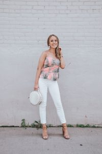 Popular Style Blogger Lauren Meyer of The Lo Meyer Blog shares a Summer Date Night Outfit