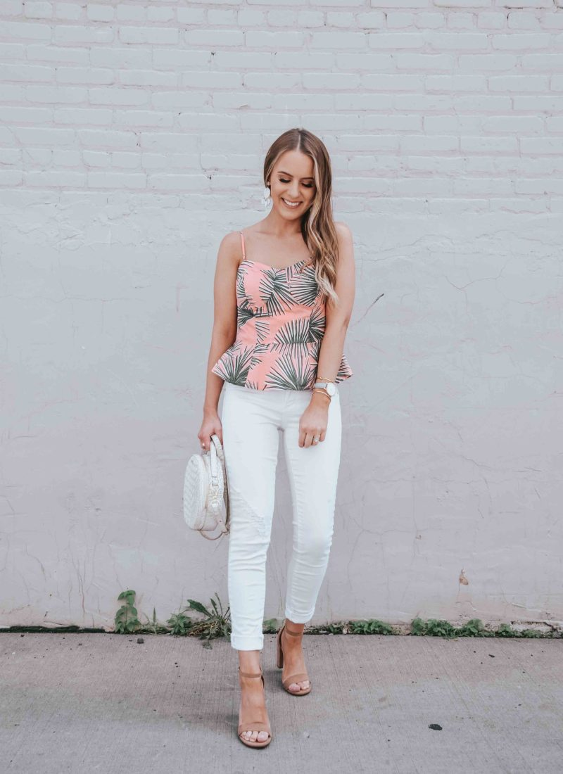 Summer Date Night Outfit & A Sweet Treat