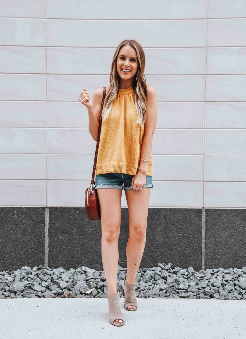 Popular Fashion Blogger Lauren Meyer of the Lo Meyer Blog shares a Summer Style Trend - Yellow & Gold