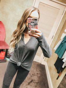 Popular Style Blogger Lauren Meyer of The Lo Meyer Blog shares Nordstrom Anniversary Sale Dressing Room Try On