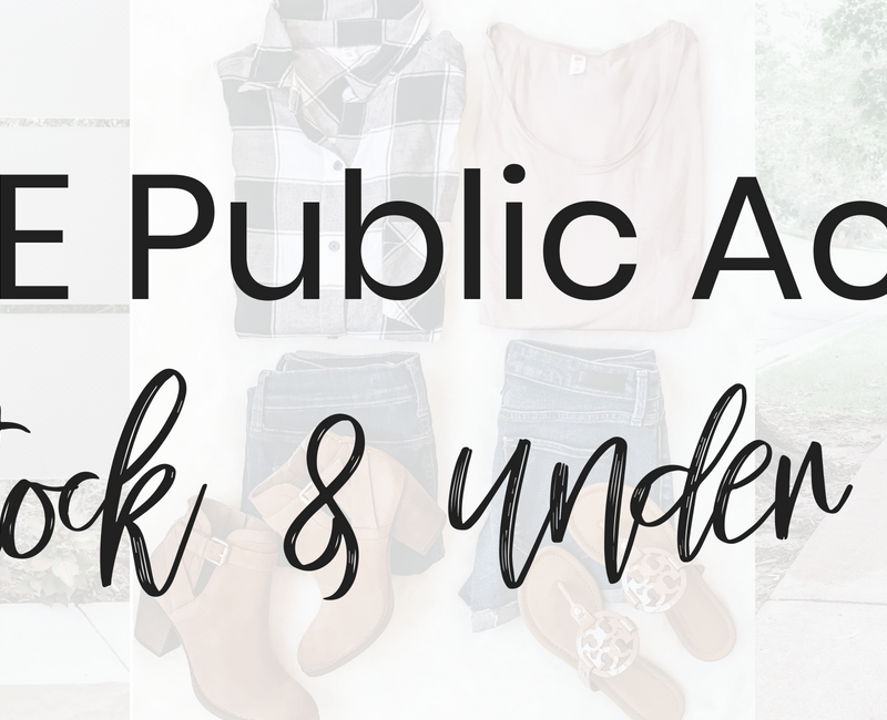 Popular Style Blogger Lauren Meyer of The Lo Meyer Blog shares Nordstrom Anniversary Sale Public Access In Stock & under $100 top picks!