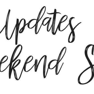 Updates & Weekend Sales