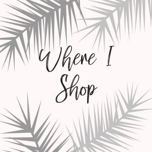 Popular Fashion Blogger Lauren Meyer of The Lo Meyer Blog shares her favorite places to shop | Where I shop