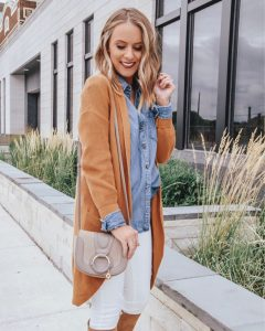 Popular Style Blogger Lauren Meyer of The Lo Meyer Blog shares Affordable Cardigans You Need for Fall 2018