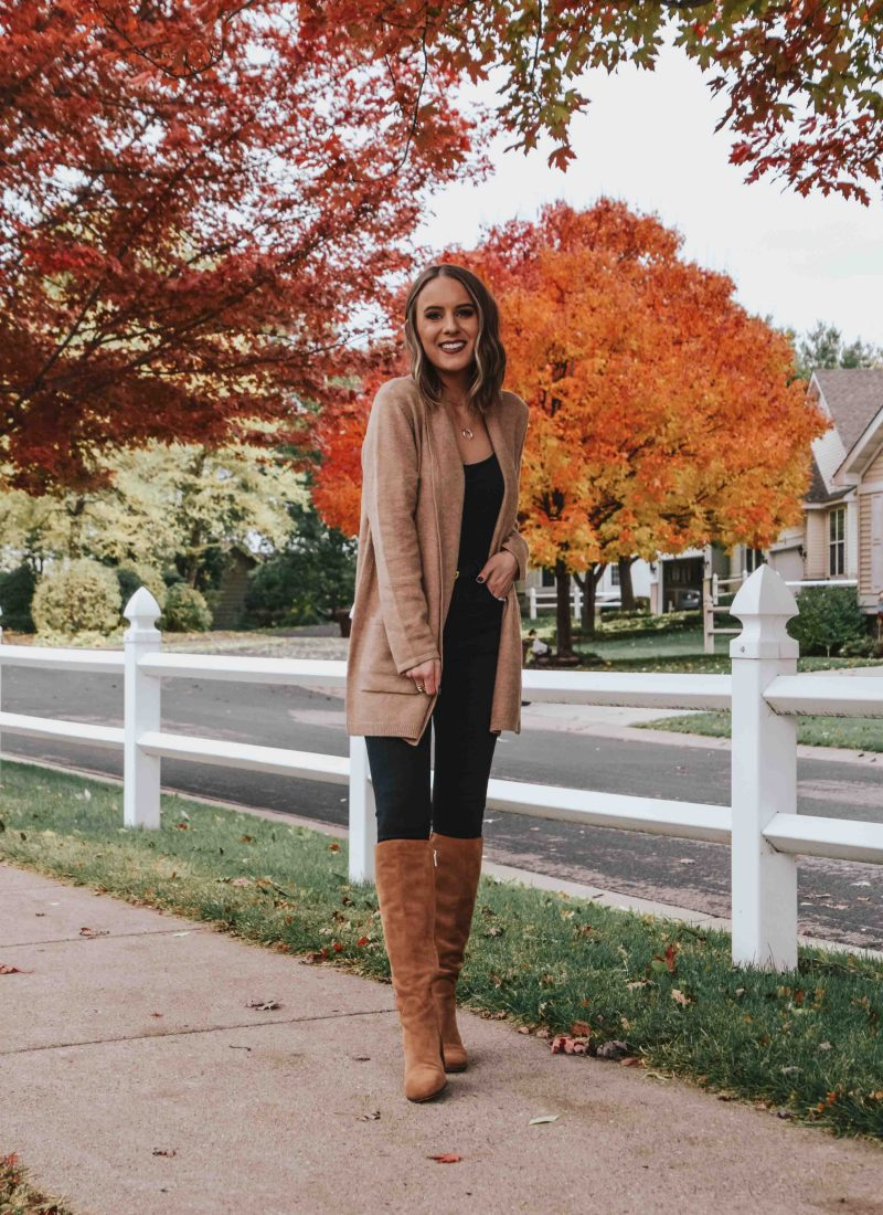 Easy Chic Fall Outfit + Weekend Sales