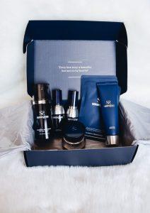Blogger Lauren Meyer of The Lo Meyer Blog shares her skincare routine using Korean Beauty Line Saranghae