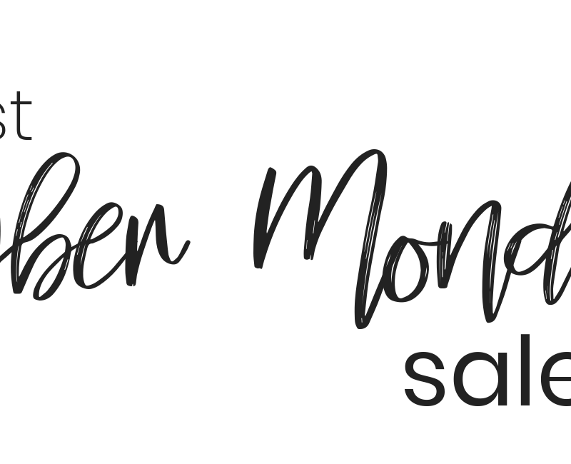 Popular Blogger Lauren Meyer of The Lo Meyer Blog shares The Best Cyber Monday Sales and Deals 2018