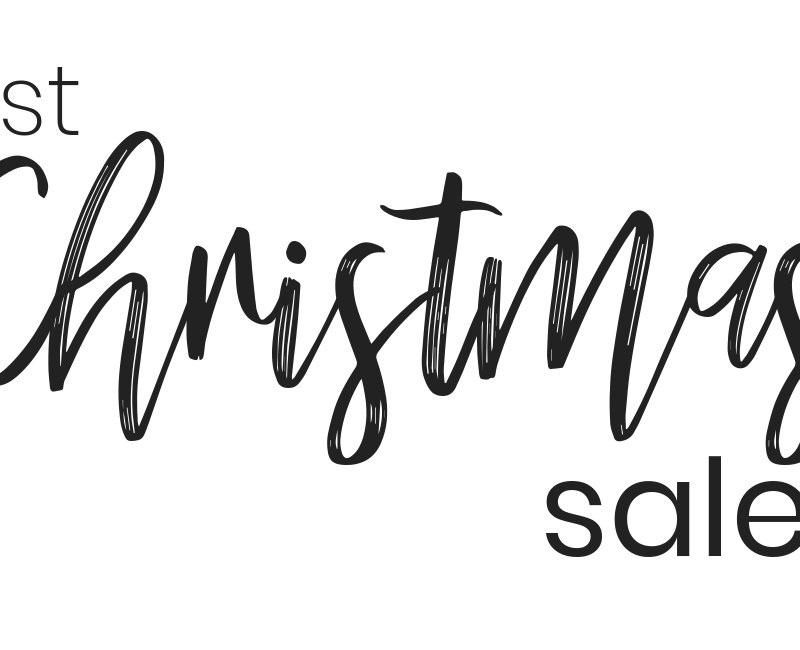 The Best Christmas Sales