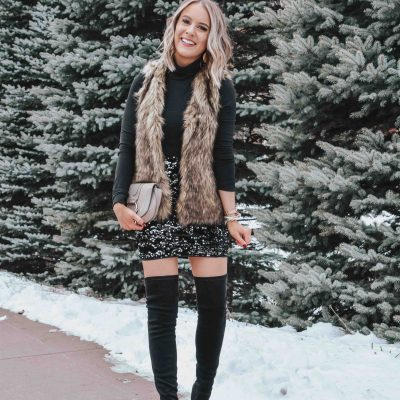 Simple & Chic New Year's Eve Outfit