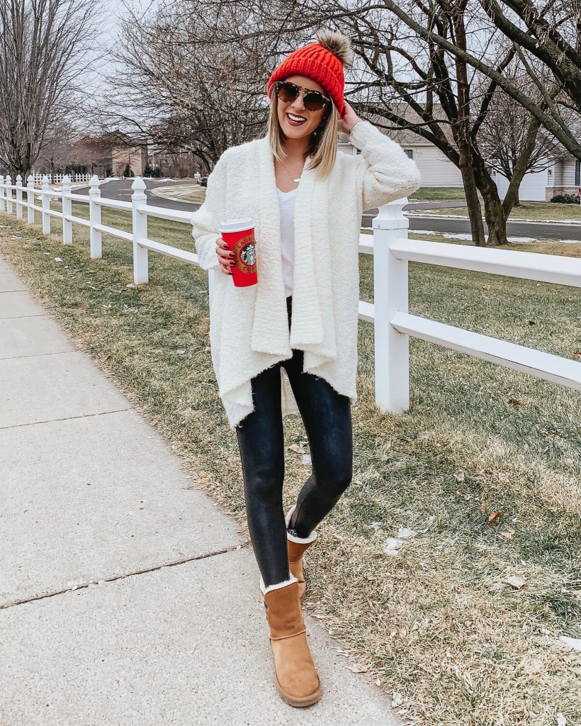 20+ Ways to Style Spanx Faux Leather Leggings Style Blogger Lauren Meyer shares 20+ Ways to Style Spanx Faux Leather Leggings