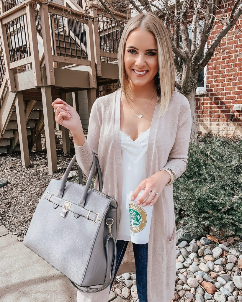 Affordable Spring Outfits! Style Blogger Lauren Meyer of The Lo Meyer Blog shares Spring Outfits in an Instagram Roundup + Weekend Sales