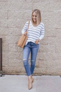 How to layer for Spring for the perfect Spring Outfit ; Blogger Lauren Meyer of The Lo Meyer Blog shares The Art of Spring Layering