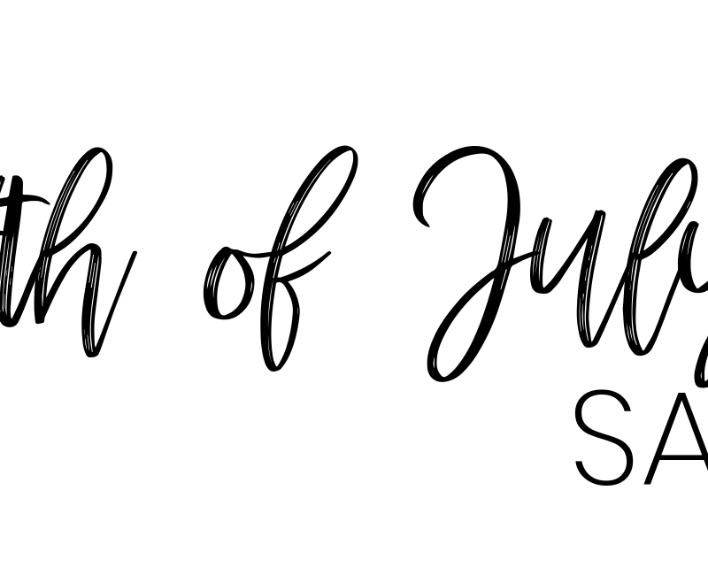 4th of July Sales! Style Blogger Lauren Meyer shares a round up of 4th of July Sales 2019