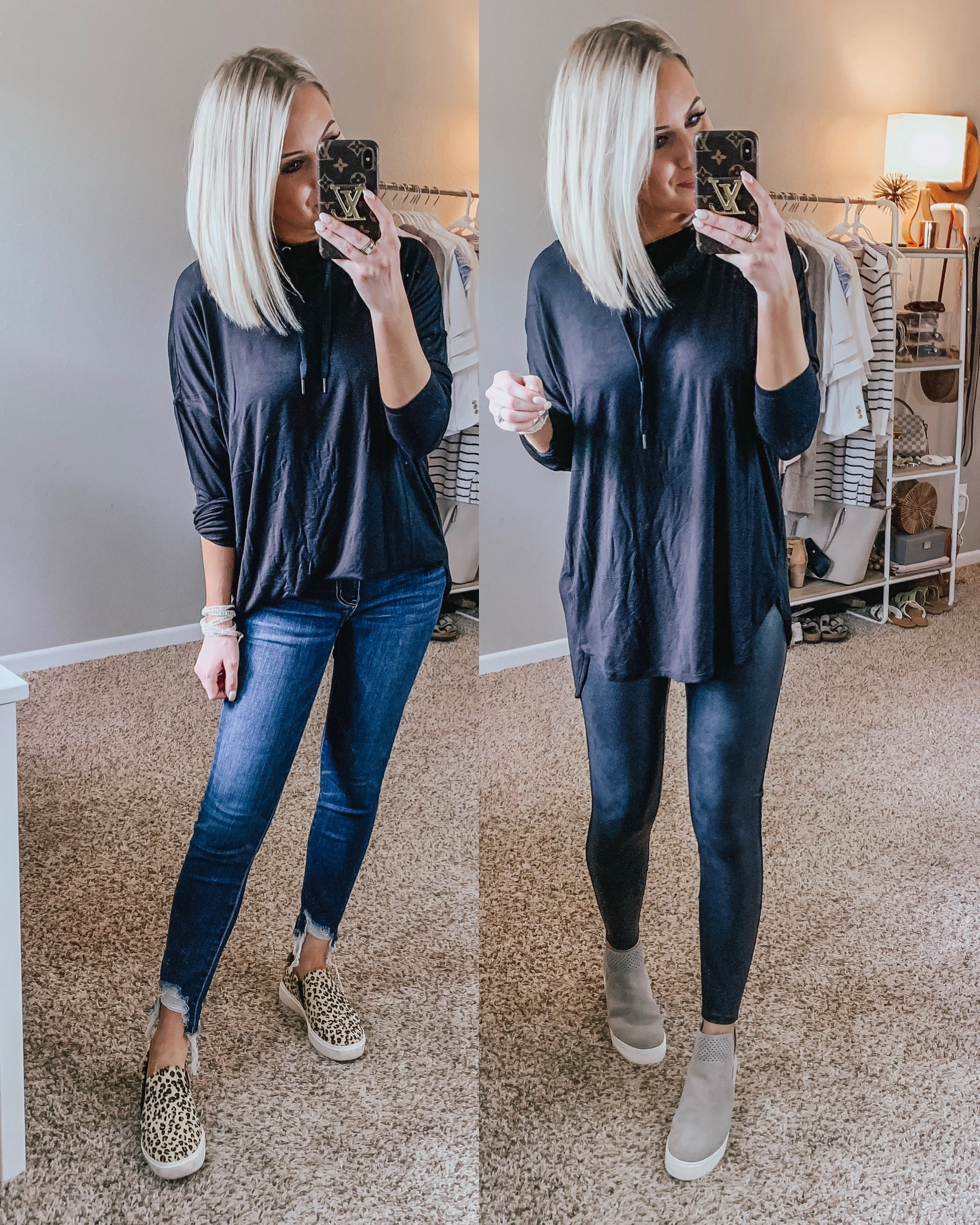 Affordable Fall Transition Outfits | Style Blogger Lauren Meyer shares Affordable Fall Transition Outfits