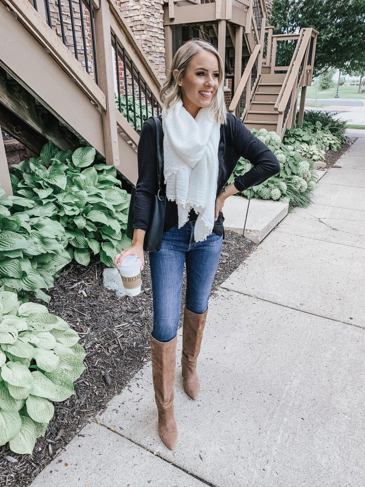 Affordable Fall Basics | Style Blogger Lauren Meyer shares 3 Ways to Style Affordable Fall Basics for Fall Transition Season