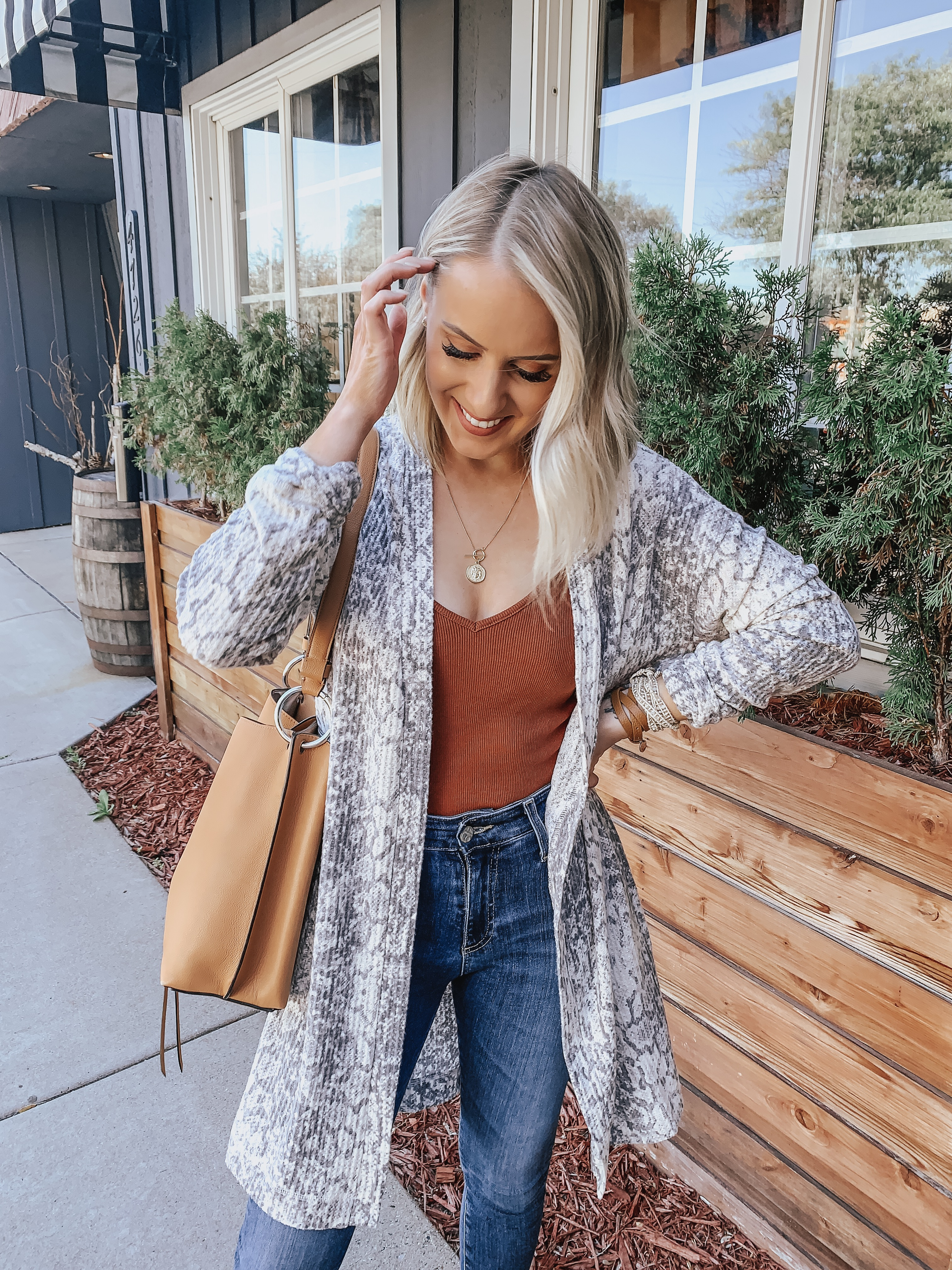 How to Style the Snakeskin Trend for Everyday Wear | Style Blogger Lauren Meyer shares How to Style the Snakeskin Trend for Everyday Wear
