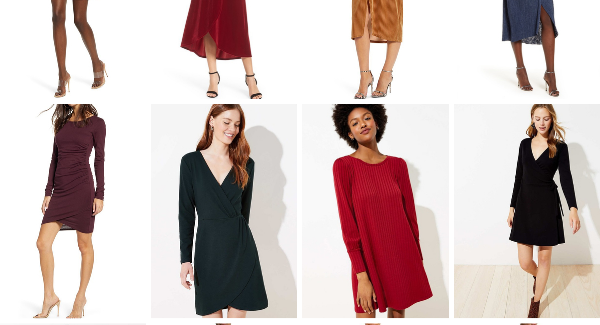 Fall and Winter Wedding Guest Dresses