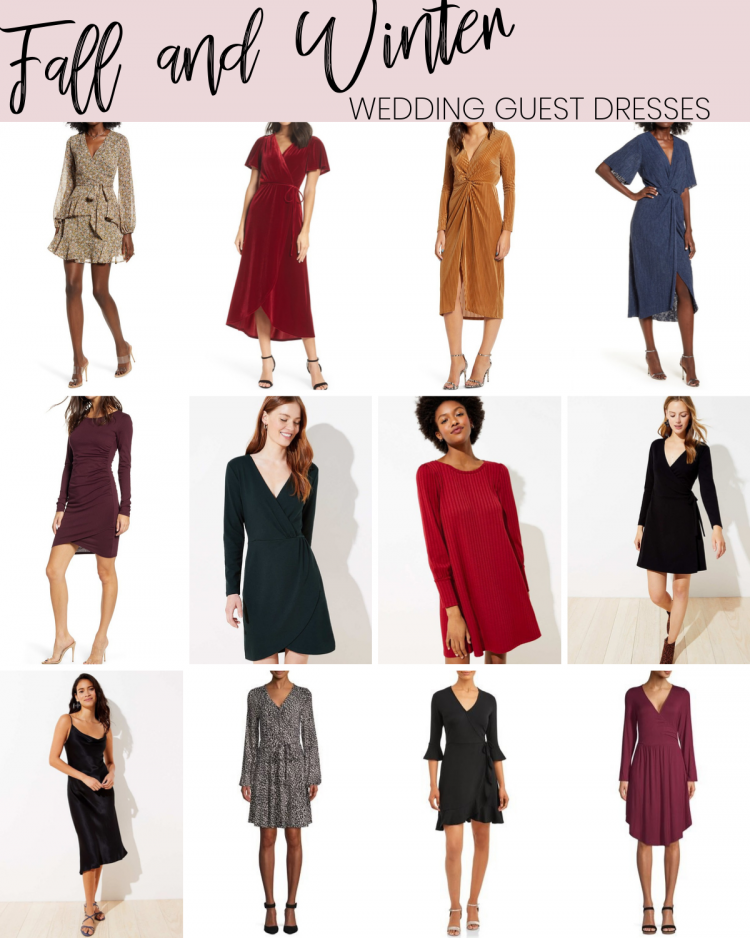 Fall & Winter Wedding Guest Dresses | Style Blogger Lauren Meyer shares Fall & Winter Wedding Guest Dresses