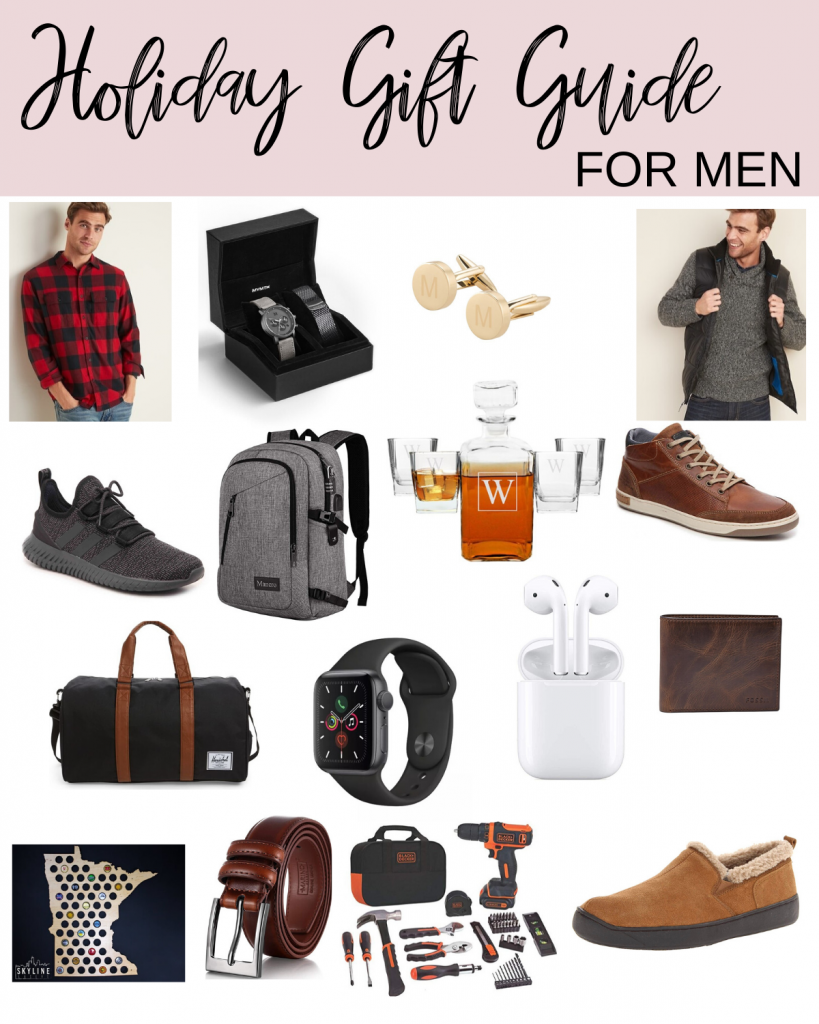 holiday gifts for men | gift guide for men | Style Blogger Lauren Meyer shares Holiday Gifts for Men