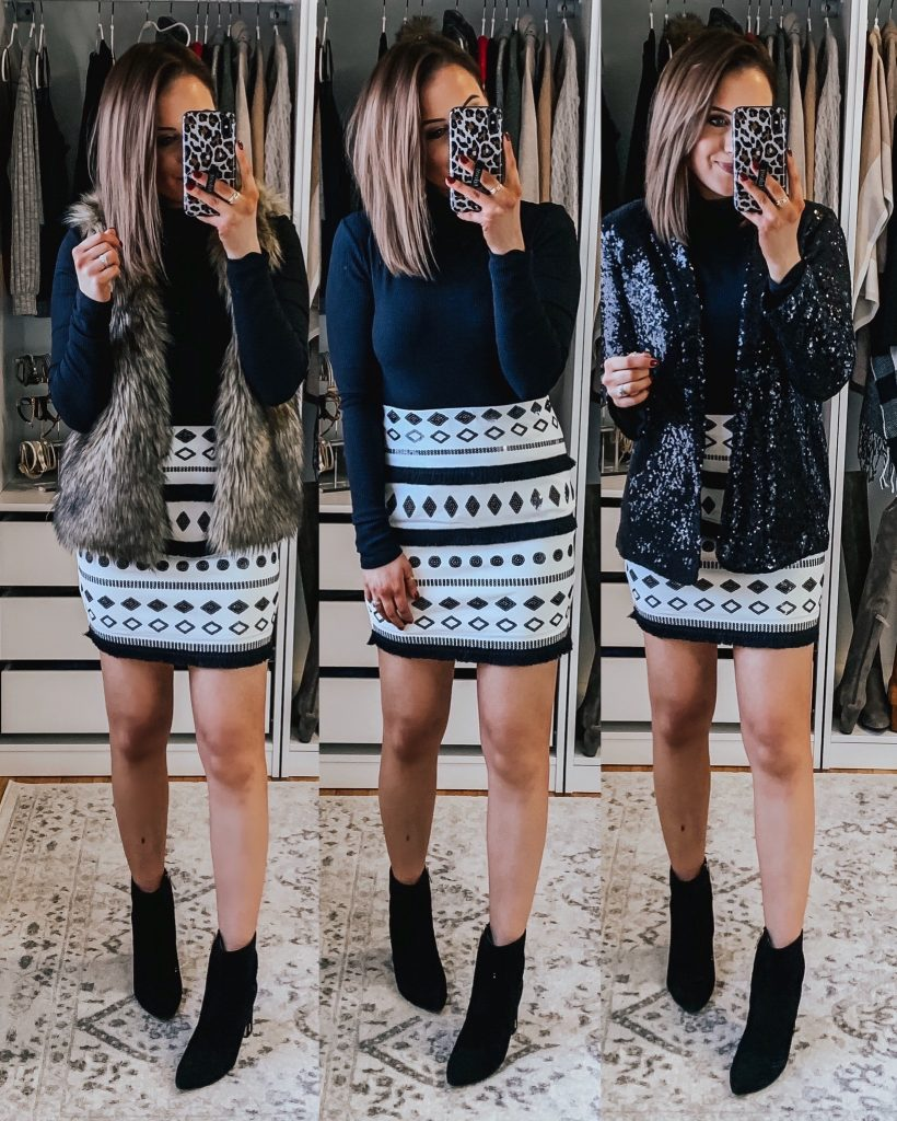 Dressy Holiday Outfits | NYE Outfits | Fashion blogger Lauren Meyer shares Dressy Holiday Outfits
