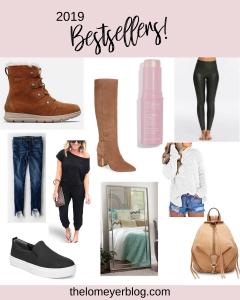 Top 10 Blog Bestsellers of 2019 | Style Blogger Lauren Meyer shares the Top 10 Blog Bestsellers of 2019