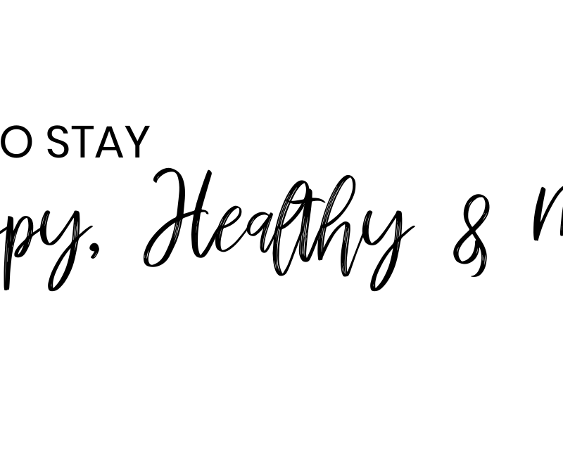 How to stay happy, healthy and motivated while practicing social distancing | Style Blogger Lauren Meyer shares how to stay happy, healthy and motivated while at home!