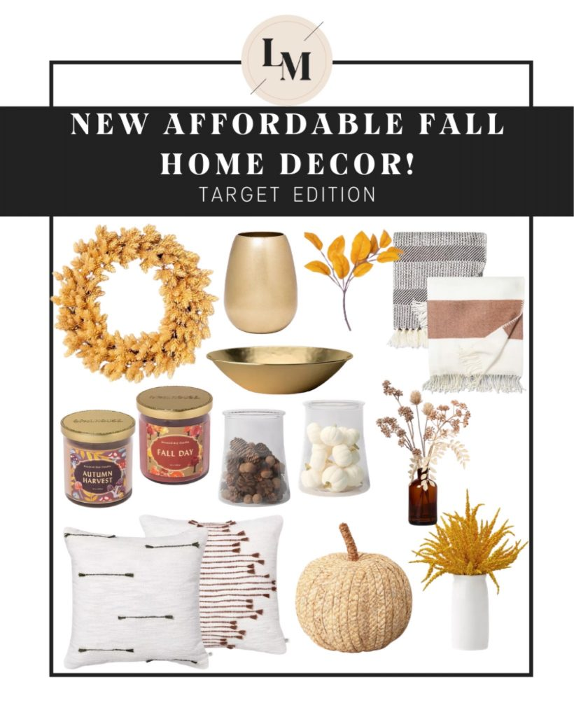 Target Fall Home Decor